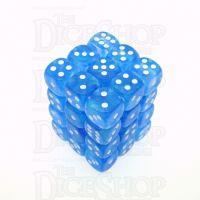 Chessex Borealis Sky Blue 36 x D6 Dice Set