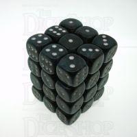 Chessex Borealis Smoke 36 x D6 Dice Set