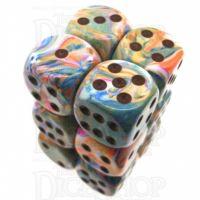 Chessex Festive Vibrant 12 x D6 Dice Set
