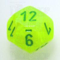 Chessex Vortex Electric Yellow & Green D12 Dice