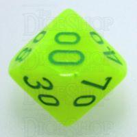 Chessex Vortex Electric Yellow & Green Percentile Dice