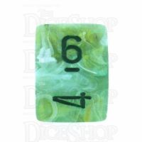 Chessex Marble Green D6 Dice