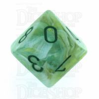 Chessex Marble Green D10 Dice