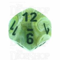 Chessex Marble Green D12 Dice