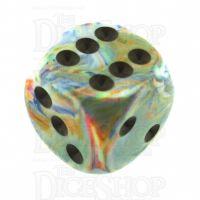 Chessex Festive Vibrant 16mm D6 Spot Dice