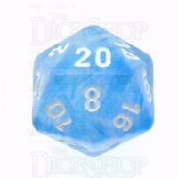 Chessex Borealis Sky Blue D20 Dice