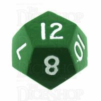 TDSO Metal Spectrum Green Finish D12 Dice - Discontinued