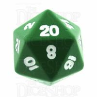 TDSO Metal Spectrum Green Finish D20 Dice - Discontinued