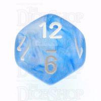 Chessex Borealis Sky Blue D12 Dice