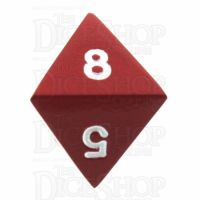 TDSO Metal Spectrum Red Finish D8 Dice - Discontinued