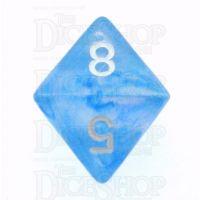Chessex Borealis Sky Blue D8 Dice