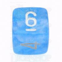 Chessex Borealis Sky Blue D6 Dice
