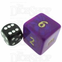 D&G Interferenz Purple JUMBO 34mm D6 Dice