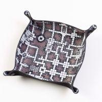 Folding Dice Tray - Dungeon - Grey