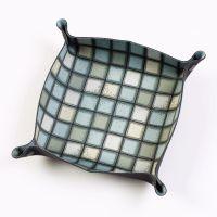Folding Dice Tray - Tile - Green