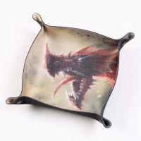 Folding Dice Tray - Dragon - Raargh