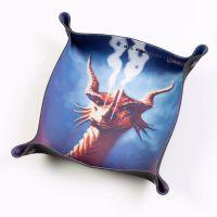 Folding Dice Tray - Dragon - Smoulder