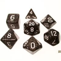 TDSO Glitter Green 7 Dice Polyset - Discontinued