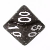 TDSO Glitter Green Percentile Dice - Discontinued