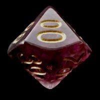 TDSO Confetti Royal Assassin Percentile Dice