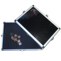KR Metal Dice Tray & Accessory Case - Black