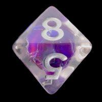 TDSO Purple Dragon Scale D8 Dice