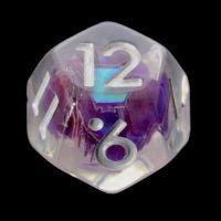TDSO Purple Dragon Scale D12 Dice