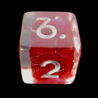 TDSO Red Dragon Scale D6 Dice