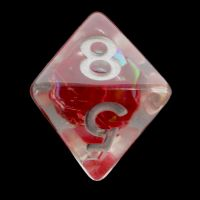 TDSO Red Dragon Scale D8 Dice