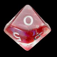 TDSO Red Dragon Scale D10 Dice