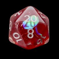 TDSO Red Dragon Scale D20 Dice