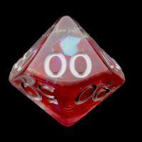 TDSO Red Dragon Scale Percentile Dice