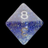 TDSO Glitter Dark Blue D8 Dice
