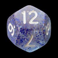 TDSO Glitter Dark Blue D12 Dice