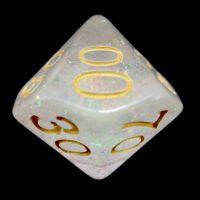 TDSO Shimmer Rose & Gold Percentile Dice