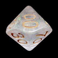 TDSO Shimmer Green & Bronze Percentile Dice