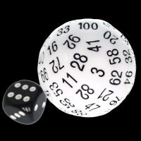TDSO Opaque White D100 Dice
