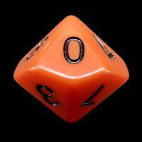 CLEARANCE Impact Opaque Orange & Black D12 Dice