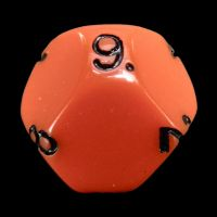 Impact Opaque Orange & Black D9 Dice