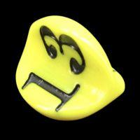 Impact Opaque Yellow & Black Apple Core D3 Dice