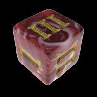 Impact Vampiric Touch Roman Numeral D3 Dice