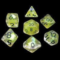 TDSO Yellow Dragon Scale 7 Dice Polyset