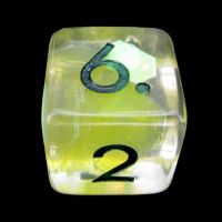 TDSO Yellow Dragon Scale D6 Dice