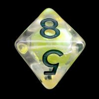TDSO Yellow Dragon Scale D8 Dice