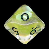 TDSO Yellow Dragon Scale D10 Dice