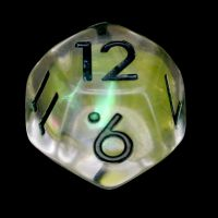 TDSO Yellow Dragon Scale D12 Dice