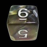 TDSO Quartet Copper Gold Silver & Teal D6 Dice