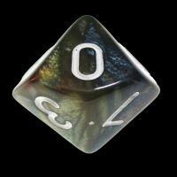 TDSO Quartet Copper Gold Silver & Teal D10 Dice