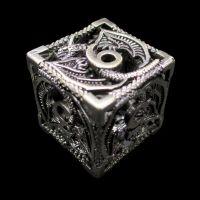 TDSO Metal Hollow Dragon Antique Black Nickel D6 Dice