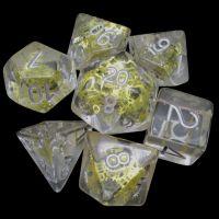 TDSO Diamond & Gold Gear & Cogs 7 Dice Polyset